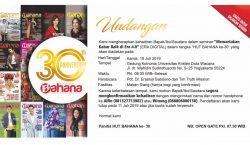 30th Anniversary BAHANA Magazine