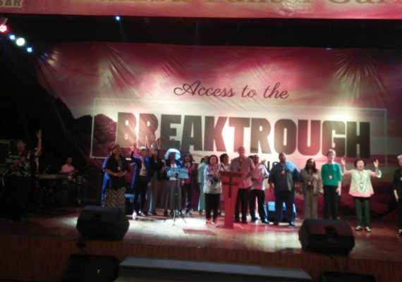 Access to the Breakthrough Anointing