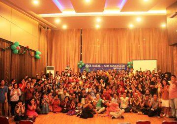 SOS Makassar Gelar KKR Natal