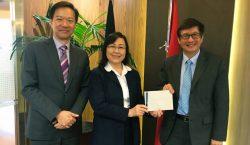 UPH Menyambut Hangat Kunjungan Lumina College Hongkong