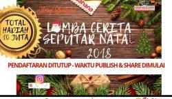 Waktu Pendaftaran Lomba Cerita Seputar Natal 2018 Berakhir