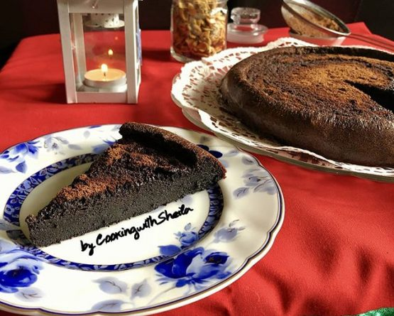 Chocolate Mousse Cake ala Cooking with Sheila