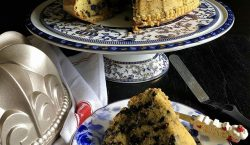 Cookies and Cream Pound Cake ala Cooking with Sheila