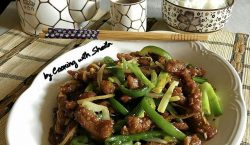 Tender Mongolian Beef ala Cooking with Sheila