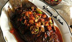 Gurameh Bakar Sambal Kecap ala Cooking with Sheila