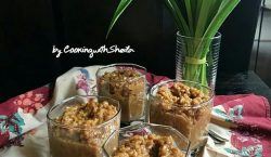 Puding Oat Gula Jawa ala Cooking with Sheila