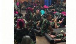 GPIB Paulus Jakarta Pusat Tampung 350 TNI