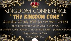 KINGDOM CONFERENCE 2019