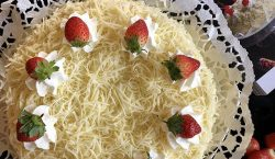 Cheese Sponge Cake ala Cooking with Sheila