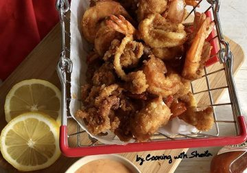 Fritto Misto ala Cooking with Sheila
