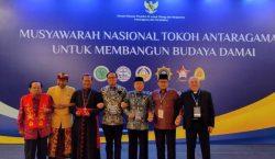 Munas Tokoh Antaragama Digelar Untuk Membangun Budaya Damai