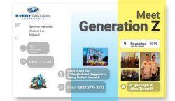 Every Nation Yogyakarta Gelar Seminar Mendidik Anak di Era Milenial