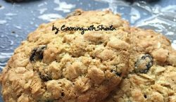 Oatmeal Raisin Cookies ala Cooking with Sheila