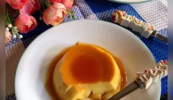 No Bake Creme Caramel Pudding ala Cooking with Sheila