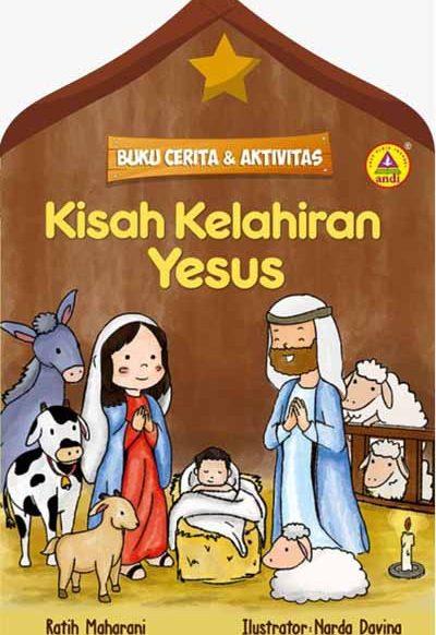 Buku Cerita dan Aktivitas – Kisah Kelahiran Yesus
