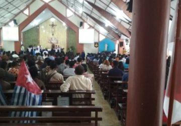 Berikut Fakta Bintang Kejora Masuk Gereja Papua