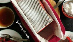 Chocolate & Red Velvet Marble Pound Cake kreasi untuk Loyang…