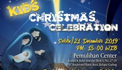 Kids Christmas Celebration Gereja Visi Pemulihan