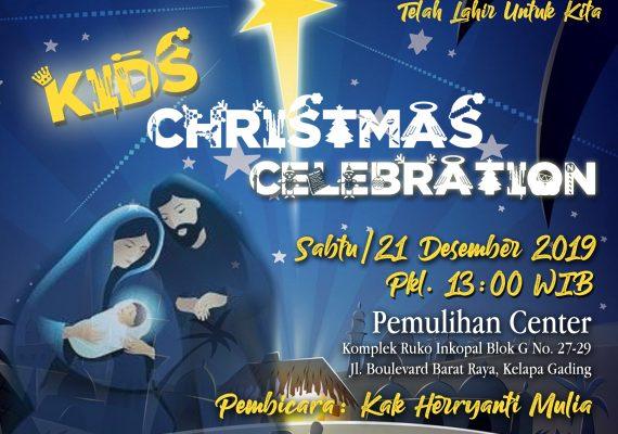Kids Christmas Celebration Gereja Visi Pemulihan