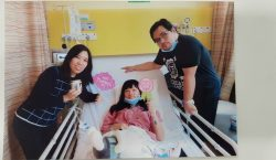 Sakit Osteosarcoma, Patrice Yakin dan Kuat, Tuhan Yesus Bersamanya