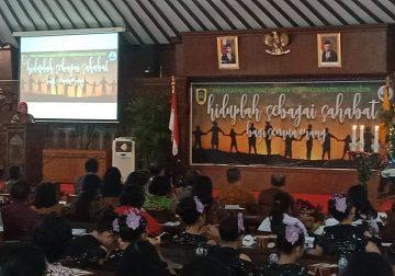 Bupati Klaten Hadiri Perayaan Natal Korpri Klaten 2019