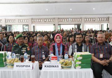 Perayaan Natal Umat Kristiani Dinas Pendidikan Kabupaten Klaten 2019