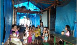 Sepenggal Kisah Yunita, Pelayanan Paskah di Pedalaman Hutan Futong