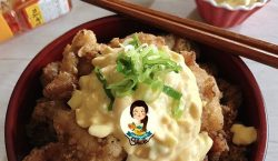 Chicken Karaage dengan Egg Mayo ala Cooking with Sheila