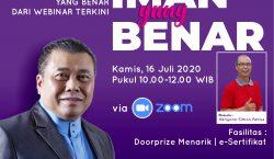 "31 Tahun Majalah BAHANA Gelar Webinar ""Iman yang Benar"""