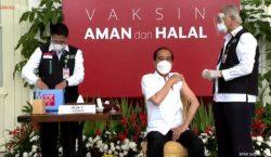 Presiden Joko Widodo Divaksin Hari Ini