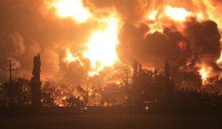 Kilang Minyak Pertamina di Balongan Indramayu Terbakar