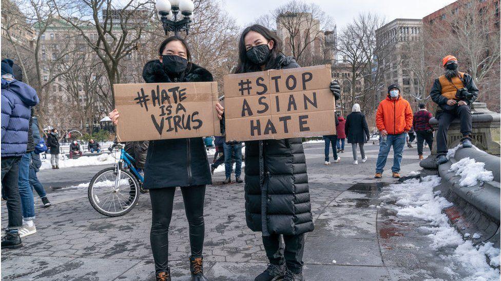 Meningkatnya kejahatan rasial di AS menciptakan gerakan Stop Asian Hate (dok. ist.)