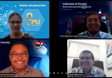 UKDW Yogyakarta Kembangkan Kerja Sama dengan Indonesia Artificial Intelligence Society (IAIS)
