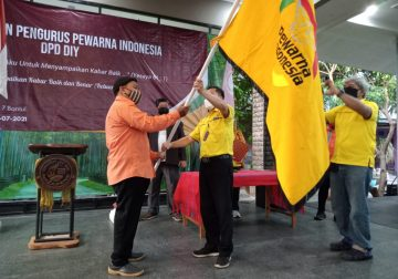 Konsolidasi Jurnalis Nasrani Berantas Hoaks di Pelantikan Pewarna PD DIY
