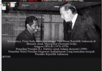 Frans Seda Menginspirasi Generasi Katolik Indonesia