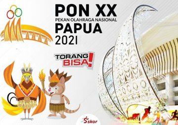 PON Papua Ukir 90 Rekor Baru