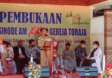 SSA XXV Gereja Toraja Singgung Sinergi Gereja dan Pemerintah