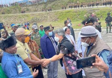 Sekjen KWI Hadiri Tahbisan Tiga Imam di Intan Jaya